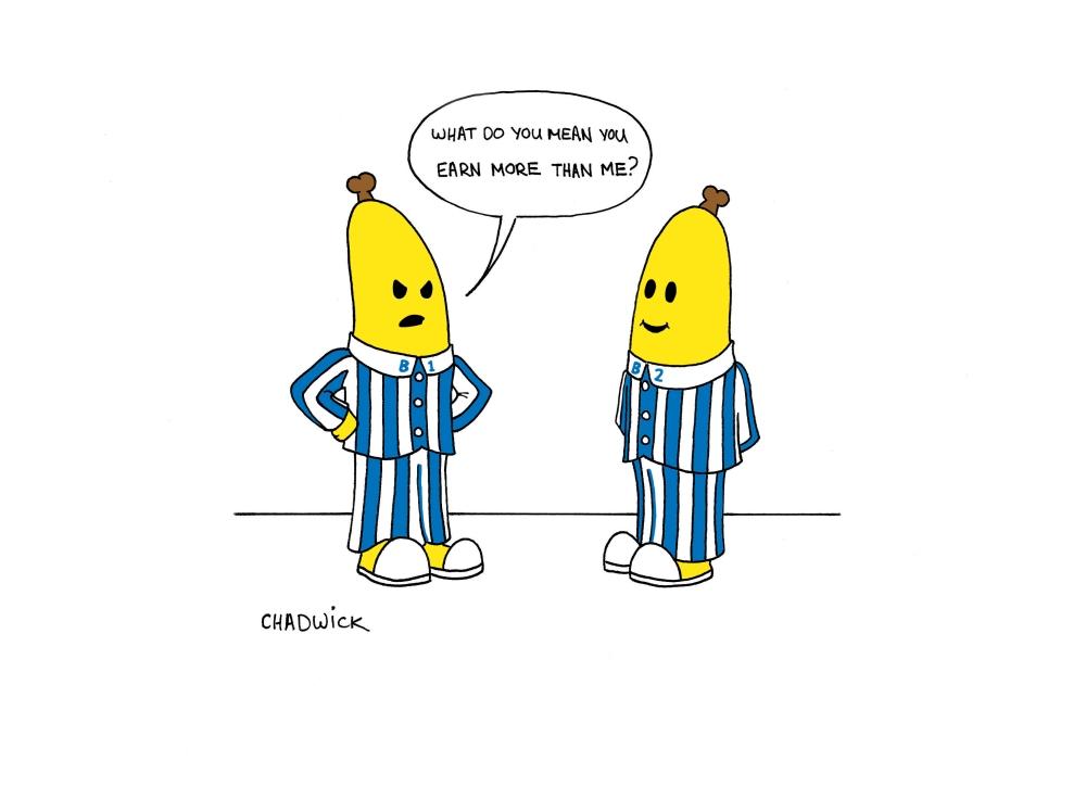 Bananas in PAYjamas