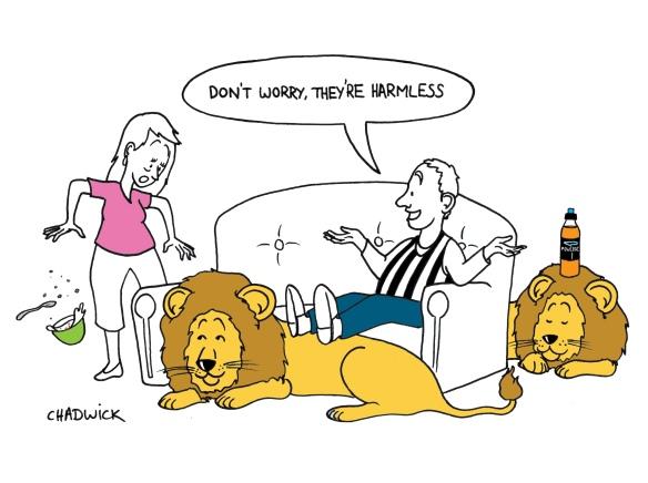 Harmless Lions 2