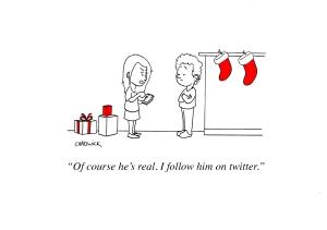 Twitter Santa