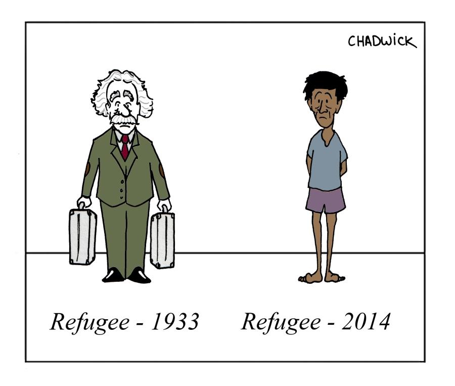 Refugees through time
