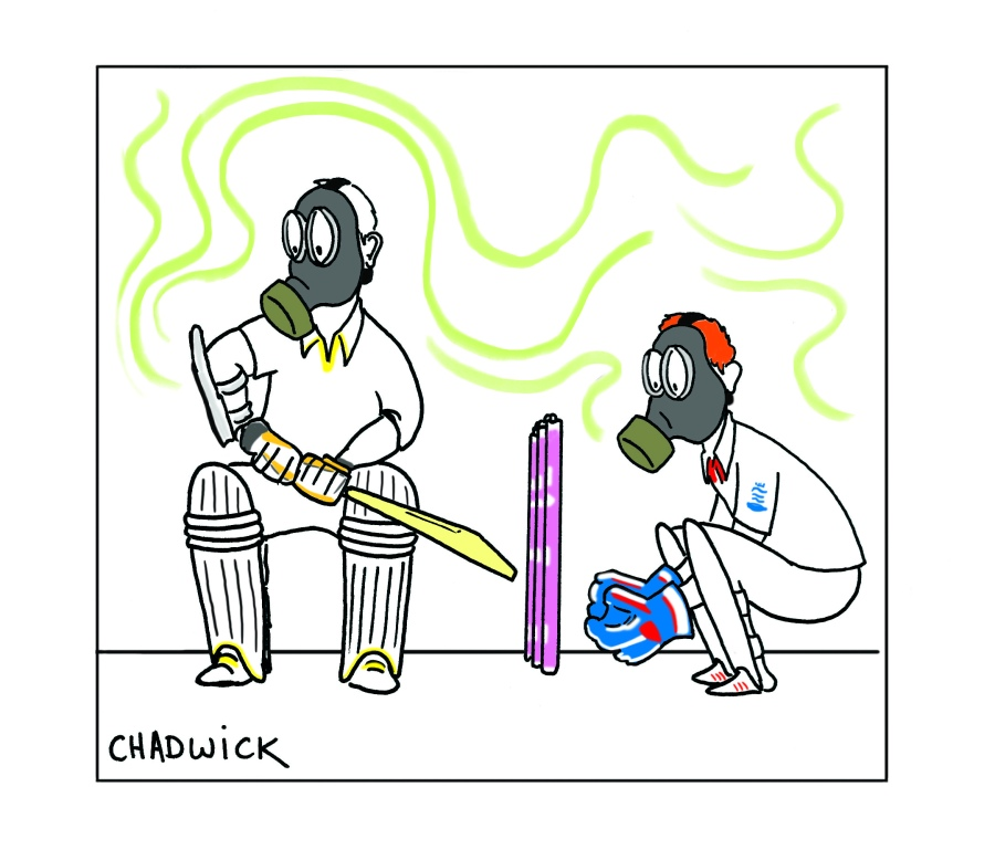 Cricket Odour