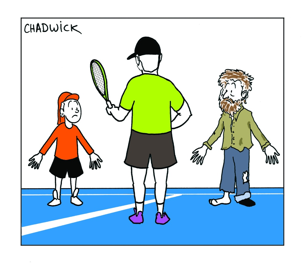 Tennis Begging