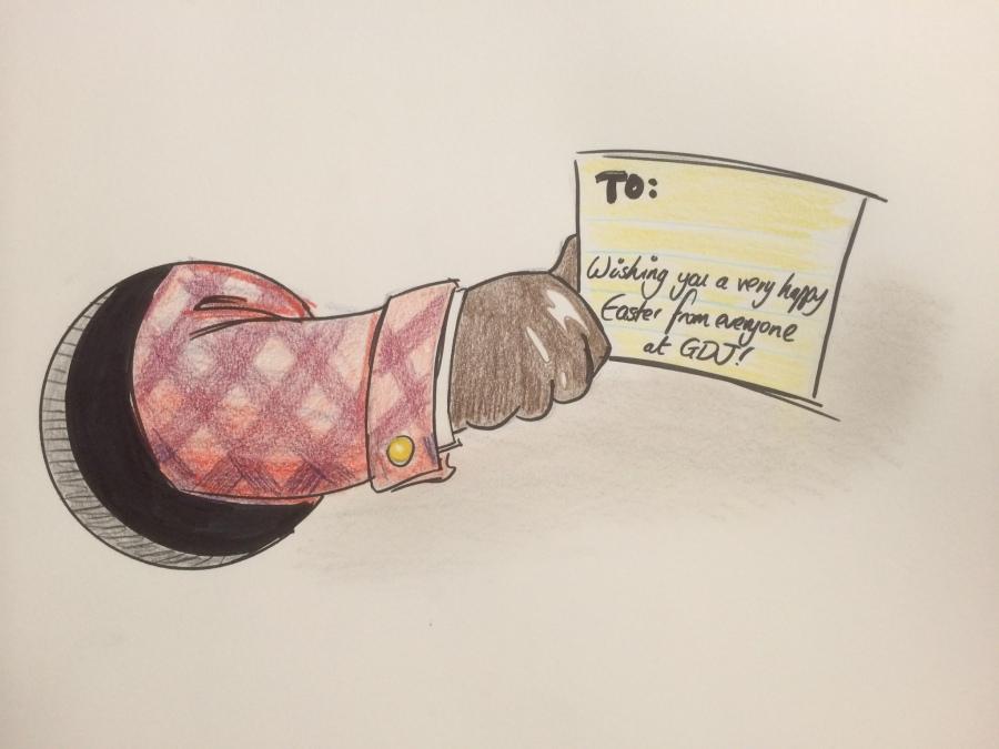 GDJ Easter card sketch