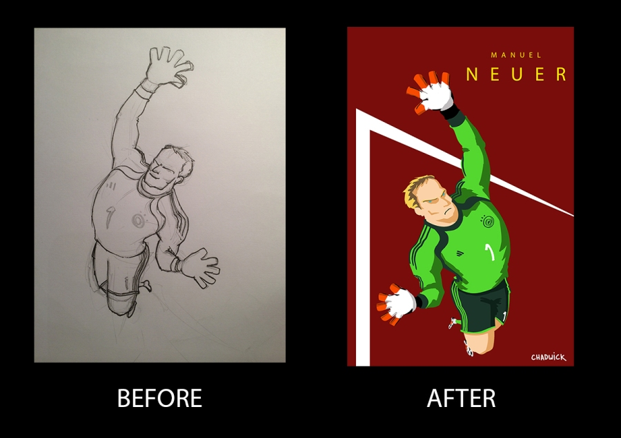 Neuer Before and After